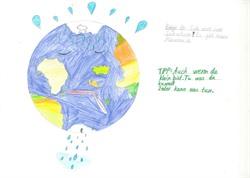 BU: Schülerinnen und Schüler der Grundschule Kreideberg haben einen Klimakalender mit vielen guten Vorsätzen zum Energie sparen gebastelt. (Foto: Grundschule Kreideberg).